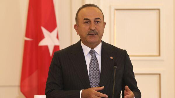 Mevlüt Çavuşoğlu - Atina - Sputnik Türkiye