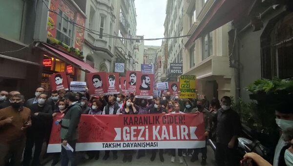 Gezi'nin 8. yılı: Beyoğlu genelinde geniş güvenlik önlemleri alındı - Sputnik Türkiye
