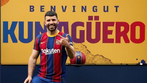 Sergio Agüero - Barcelona  - Sputnik Türkiye