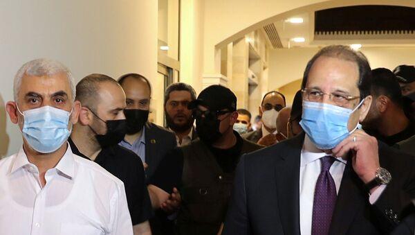 Mısır İstihbarat Başkanı Abbas Kamil - Gazze - ziyaret - Sputnik Türkiye
