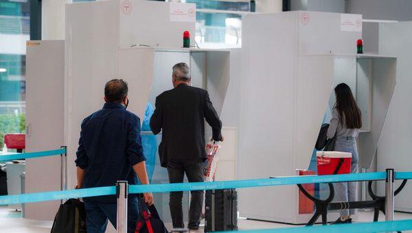 PCR Test Merkezi - İstanbul havalimanı - Sputnik Türkiye