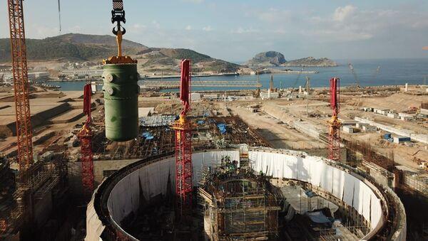 Akkuyu Nükleer Güç Santrali inşaat - Sputnik Türkiye