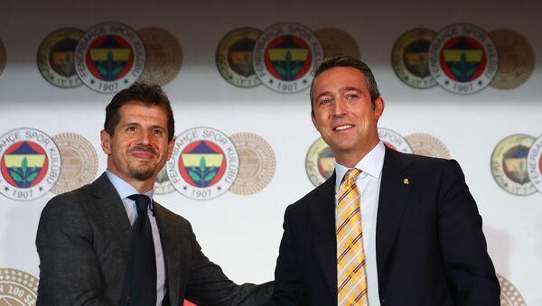Ali Koç - Emre Belözoğlu - Sputnik Türkiye