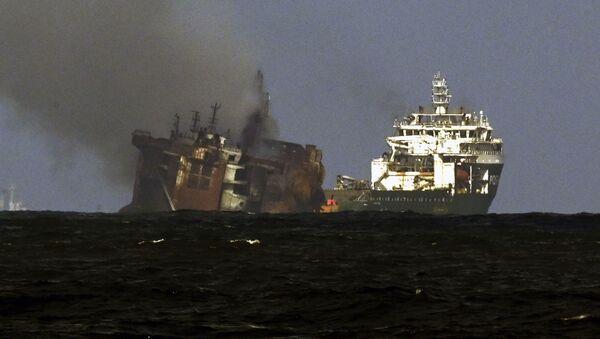 Sri Lanka'da gemi kazası - Sputnik Türkiye
