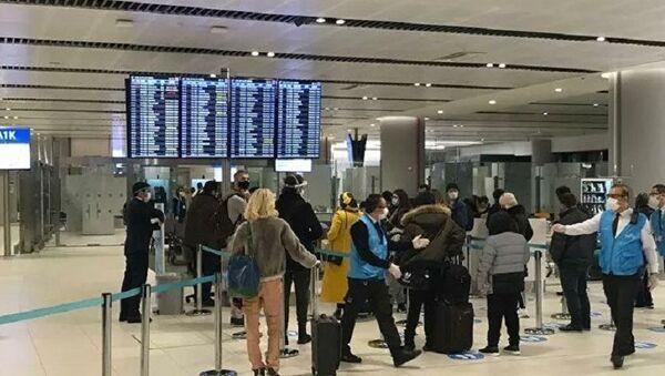 İstanbul Havalimanı-koronavirüs-PCR testi - Sputnik Türkiye