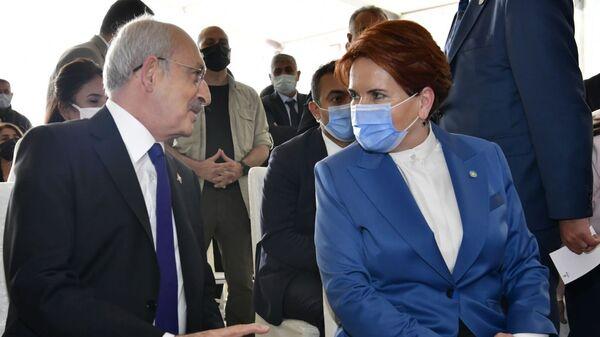 Meral Akşener -  Kemal Kılıçdaroğlu - Sputnik Türkiye
