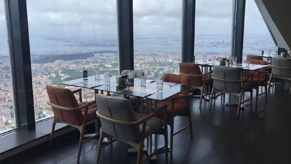 Çamlıca Kulesi restoran - Sputnik Türkiye