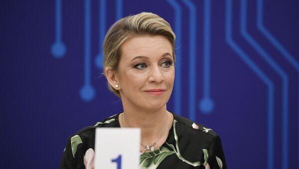 Rusya Dışişleri Bakanı Mariya Zaharova - Sputnik Türkiye