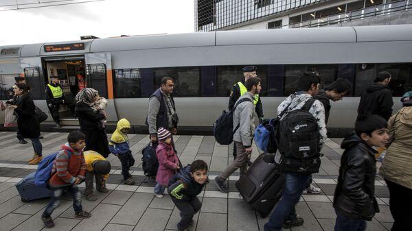 Danimarka - sığınmacı - mülteci - Sputnik Türkiye