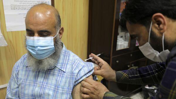 koronavirüs aşısı / Suriye - Sputnik Türkiye