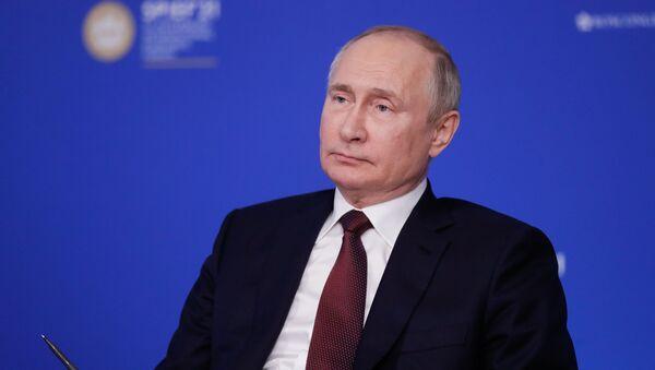 Vladimir Putin - SPIEF - Sputnik Türkiye
