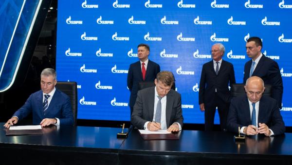 Rönesans, Rusya'da doğalgaz işleme tesisi inşa edecek - Sputnik Türkiye