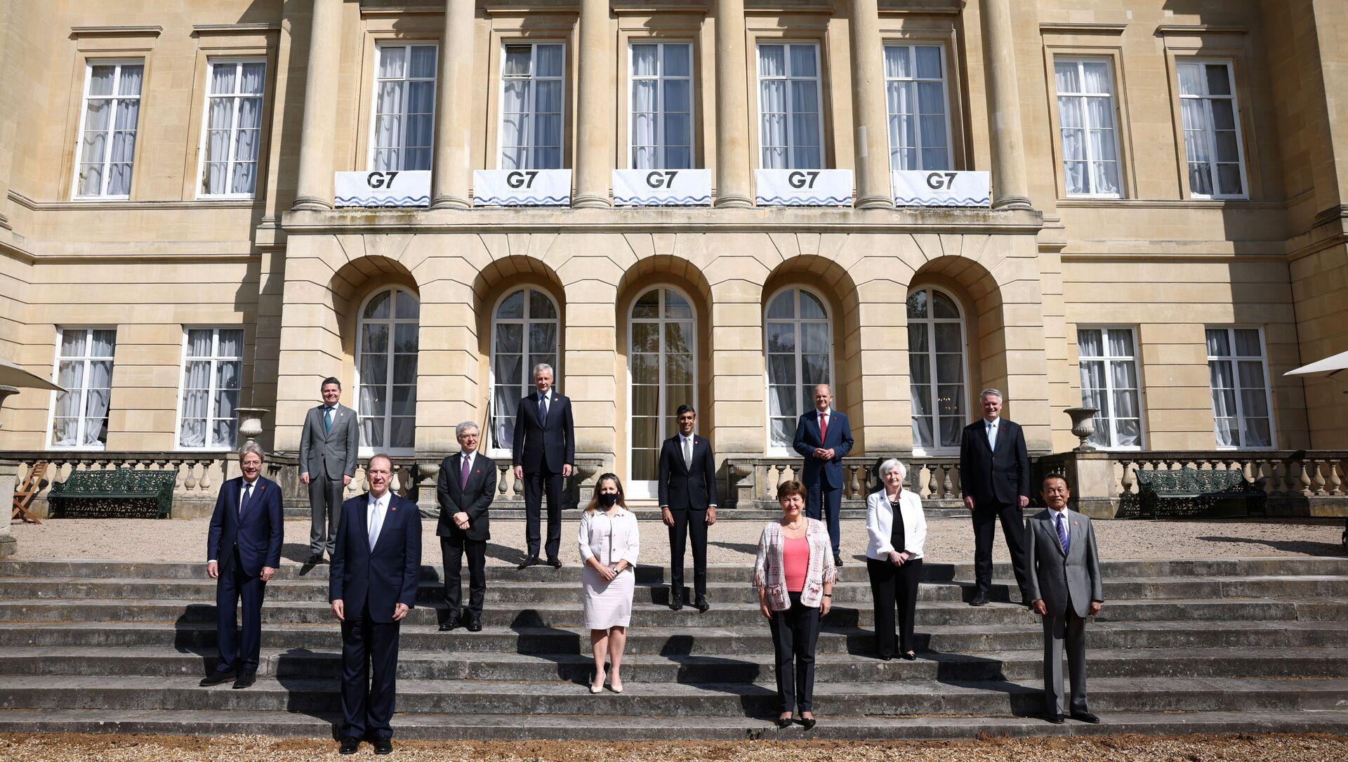 G7 Maliye Bakanları Toplantısı - Sputnik Türkiye, 1920, 05.06.2021