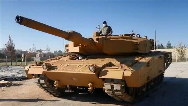 Leopard 2A4 tank - Sputnik Türkiye