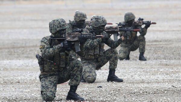 Güney Kore askerleri- ordusu - Sputnik Türkiye