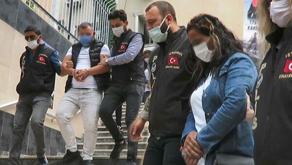 Maltepe cinayet şüphelileri Muhammed T. ve Seyfinaz B. - Sputnik Türkiye