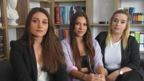 İzmir'de itfaiye aracı kullanırken video çeken 3 kadın - Sputnik Türkiye