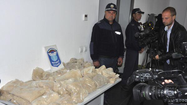Bulgaristan'da 400 kg uyuşturucu ele geçirildi - Sputnik Türkiye
