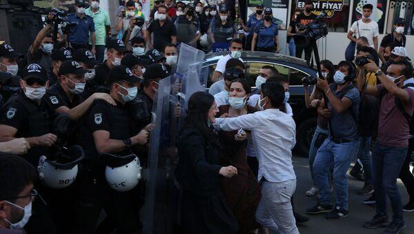 Diyarbakır - anadilde eğitim - protesto - Sputnik Türkiye