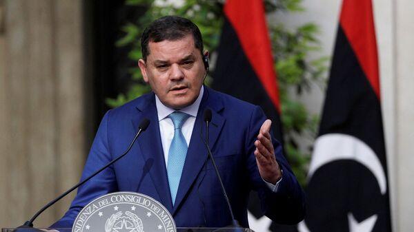 Libya Başbakanı Abdulhamid Dibeybe - Sputnik Türkiye