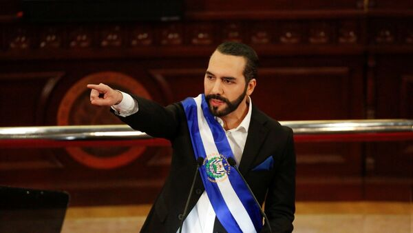 El Salvador Devlet Başkanı Nayib Bukele - Sputnik Türkiye