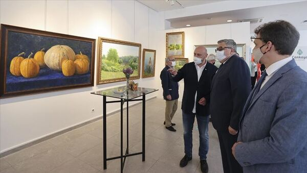 Rus ressamların eserleri Ankara'da sergilendi - Sputnik Türkiye