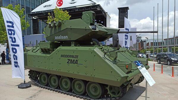 Modernize ZMA-15 - Sputnik Türkiye