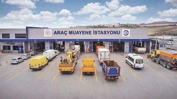 Araç muayene istasyonu - Sputnik Türkiye