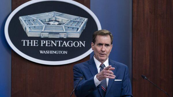 Pentagon Sözcüsü John Kirby - Sputnik Türkiye