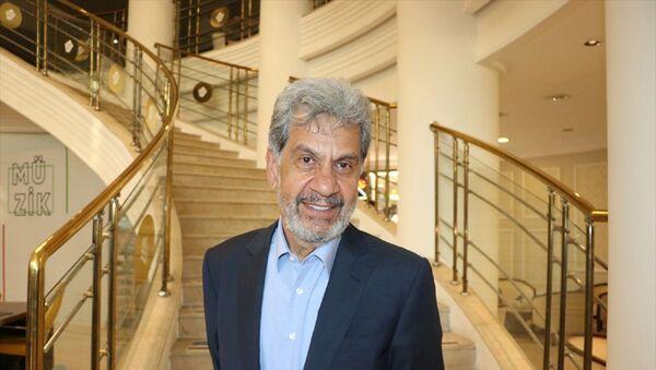 Uluslararası Nakliyeciler Derneği (UND) Yönetim Kurulu Başkanı Çetin Nuhoğlu, Kayseri'de sektör temsilcileriyle buluştu. - Sputnik Türkiye