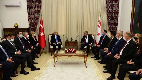 Kemal Kılıçdaroğlu-Kuzey Kıbrıs yönetimi - Sputnik Türkiye