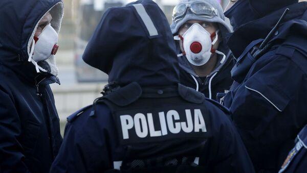 Polonya - polis - Sputnik Türkiye