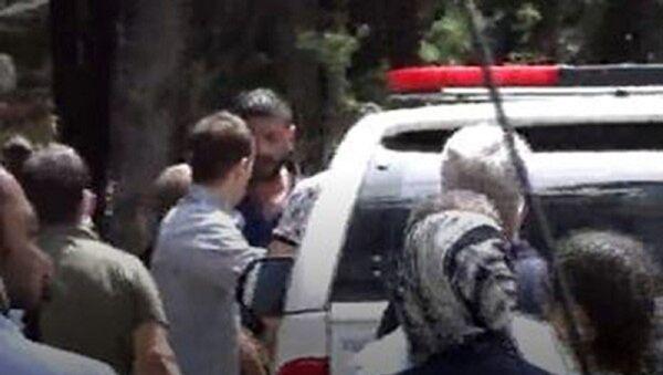 DHA Gaziantep Muhabiri Ahmet Atmaca'ya yapılan saldırı - Sputnik Türkiye