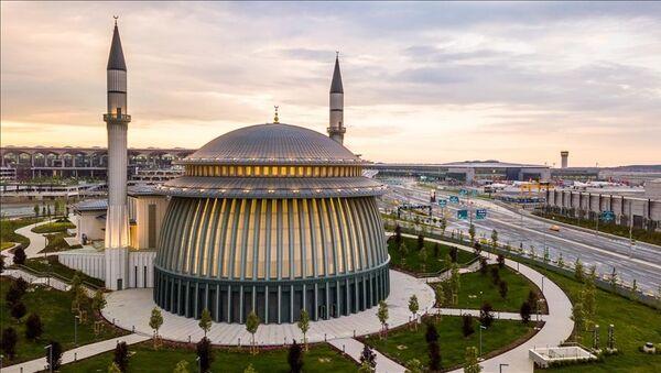 Ali Kuşçu Cami-i Şerifi 'dünyanın ilk' Leed Altın Sertifikalı camisi oldu - Sputnik Türkiye