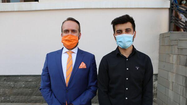 Hollanda Büyükelçi Yardımcısı Erik Weststrate- Mahir Gündoğdu  - Sputnik Türkiye