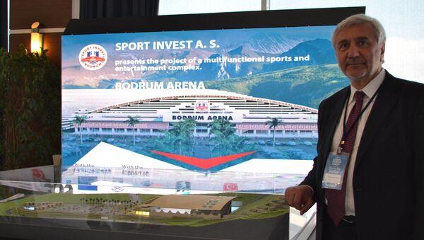 Rusya-Türkiye İş Konseyi Başkanı Palankoyev, Rus-Türk ortak yatırım projesi olan çok fonksiyonlu spor ve eğlence kompleksi Bodrum Arena'nın yapımıyla ilgili detayları paylaştı. - Sputnik Türkiye