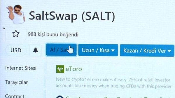 Nusret'in tuz hareketi kripto para oldu - Sputnik Türkiye