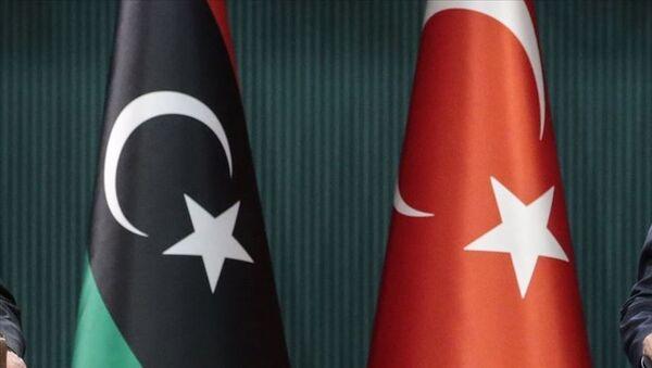 Türkiye - Libya bayrak - Sputnik Türkiye