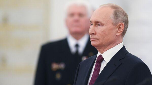 RusyaDevlet Başkanı VladimirPutin - Sputnik Türkiye