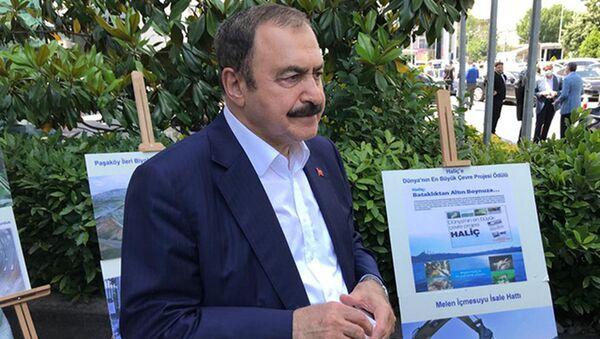 Orman ve Su İşleri Eski Bakanı Prof. Dr. Veysel Eroğlu - Sputnik Türkiye