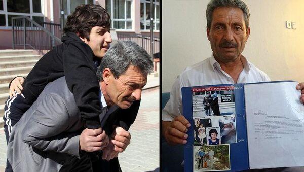 Çarpan otomobil nedeniyle engelli kalan kızının davası 20 yıl sonra sonuçlandı: 210 lira maddi, bin lira manevi tazminat - Sputnik Türkiye