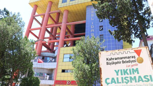 Kahramanmaraş dünyanın en saçma binası  - Sputnik Türkiye