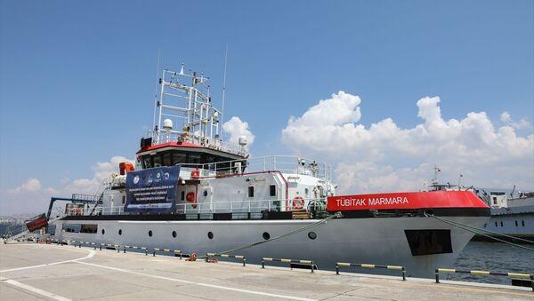 TÜBİTAK Marmara Araştırma Gemisi  - Sputnik Türkiye