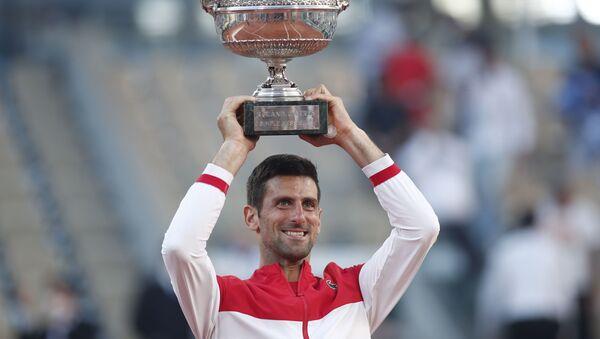 Fransa Açık'ta şampiyon Novak Djokovic - Sputnik Türkiye