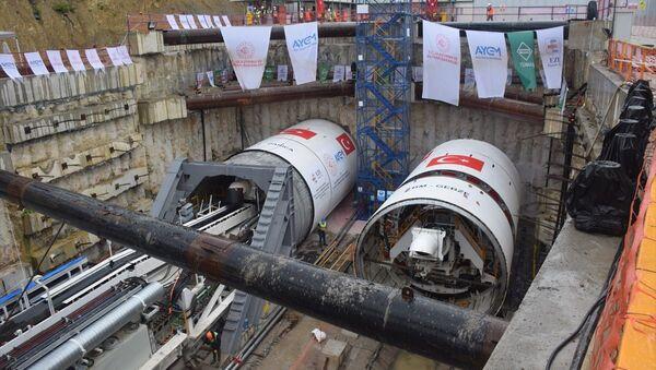 Gebze-Darıca metro hattı 2023 yılında hizmete girecek - Sputnik Türkiye