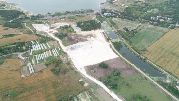 Kanal İstanbul'da ilk köprünün temelinin atılacağı yer - Sputnik Türkiye