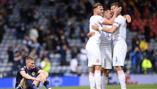 EURO 2020 D Grubu maçında Çekya, İskoçya'yı 2-0 mağlup etti   - Sputnik Türkiye