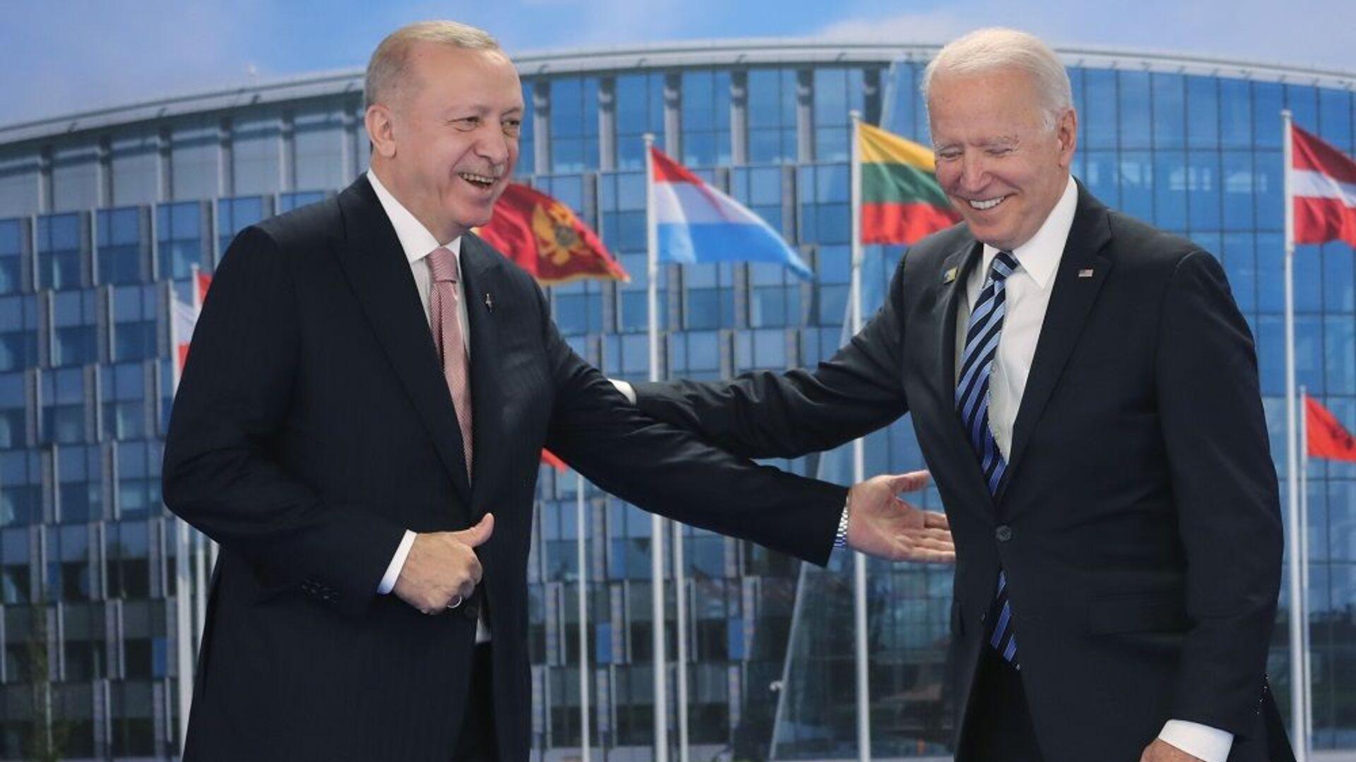 Erdoğan-Biden - Sputnik Türkiye, 1920, 26.09.2021
