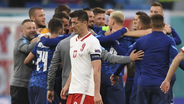 EURO 2020 E Grubu maçında Slovakya, Polonya'yı 2-1 mağlup etti - Sputnik Türkiye