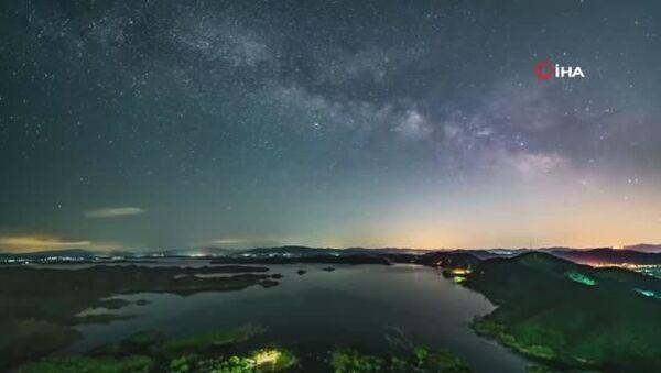 Pekin'de Samanyolu Galaksisi görüntülendi - Sputnik Türkiye